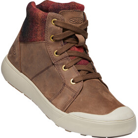 Keen Elena Mid Shoes Women chestnut/plaza taupe